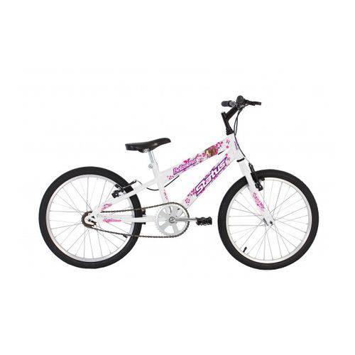 Bicicleta Infantil Aro 20 Status Belissima - Branca