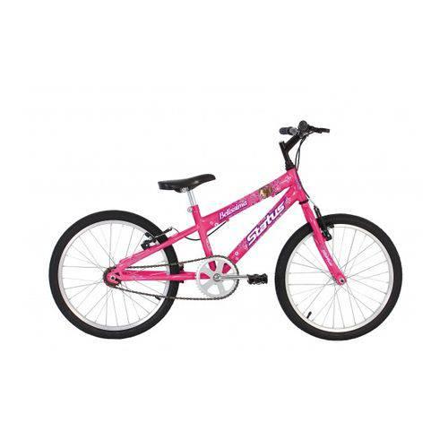 Bicicleta Infantil Aro 20 Status Belissima - Rosa
