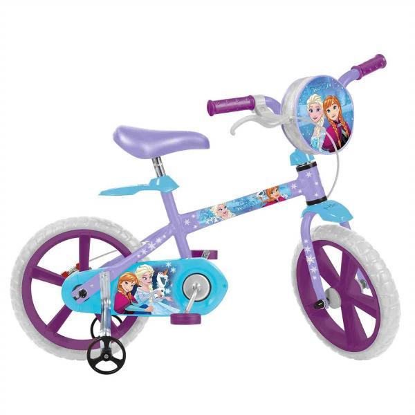 Bicicleta Infantil Aro 14 Frozen Disney Bandeirante