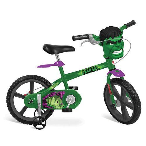 Bicicleta Infantil Aro 14 Hulk - Bandeirante