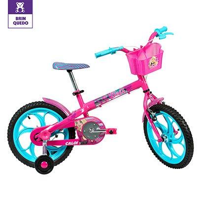 Bicicleta Infantil Aro 16 Caloi Barbie