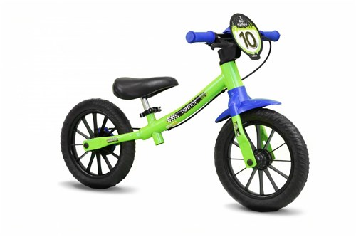 Bicicleta Infantil Balance Bike - Nathor - Verde