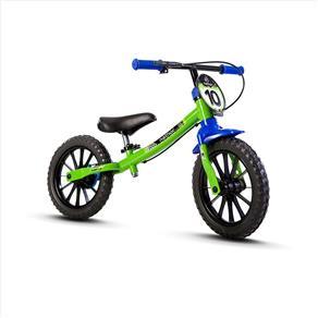 Bicicleta Infantil Balance Bike Verde - Nathor - Verde