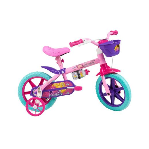 Bicicleta Infantil Barbie Aro 12 - Caloi
