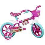 Bicicleta Infantil Caloi Barbie Aro 12 T9 V1 Rosa
