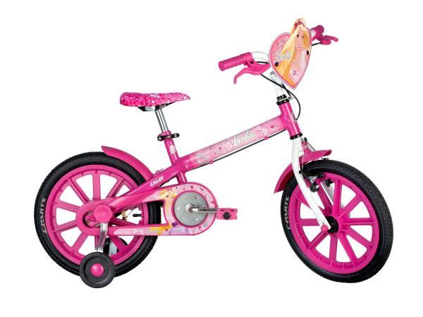 Bicicleta Infantil Caloi Barbie - Aro 16