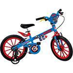 Bicicleta Infantil os Vingadores Capitão América Aro 16 - Brinquedos Bandeirante