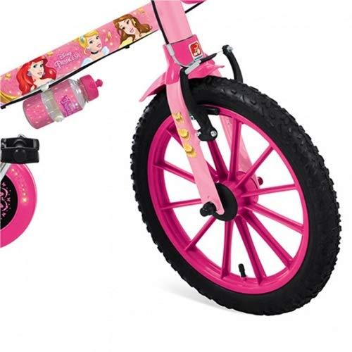 Bicicleta Infantil Princesas Disney Aro 16 - Bandeirante