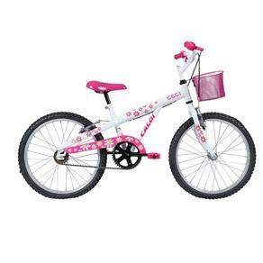 Bicicleta Infanto Juvenil Caloi Barbie Aro 20