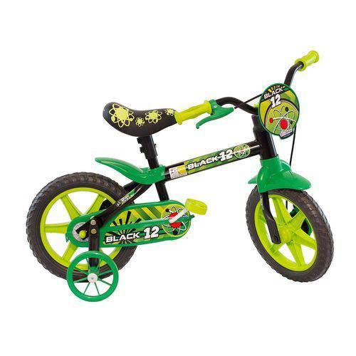 Tudo sobre 'Bicicleta Nathor Aro 12 Black Selim Pu'