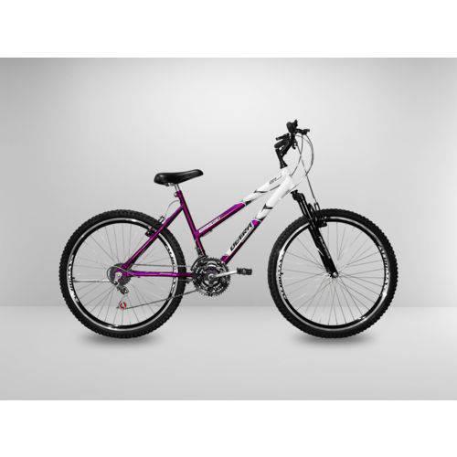 Tudo sobre 'Bicicleta Roxa Aro 26 21 Marchas com Amortecedor'
