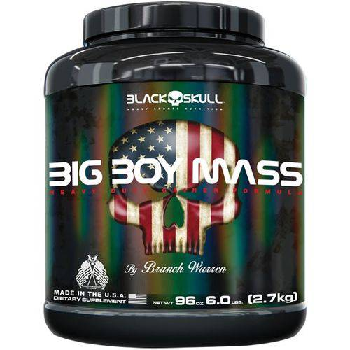 Tudo sobre 'Big Boy Mass 2,7 Kg - Black Skull'