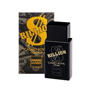 Billion Cassino Royal Paris Elysees Eau de Toilette de Toilette Perfumes Masculinos - 100ml