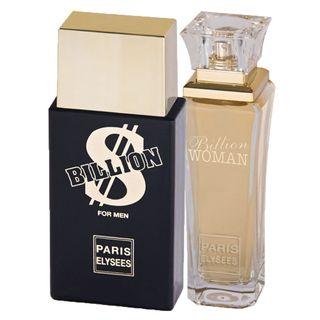 Billion Paris Elysees - Unissex - Eau de Toilette - Kits de Perfumes Kit