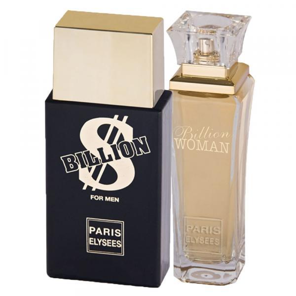 Billion Paris Elysees - Unissex - Eau de Toilette - Kits de Perfumes