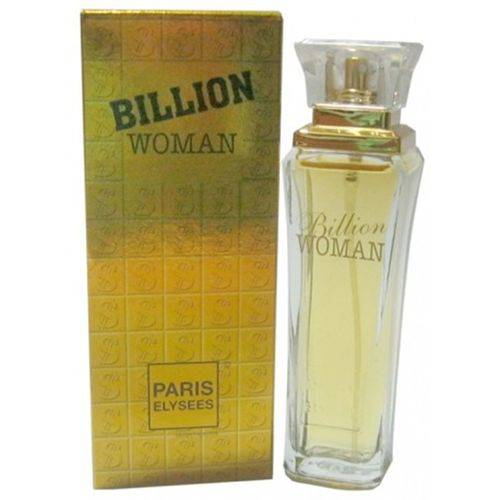 Tudo sobre 'Billion Woman - Paris Elysses - Feminino - 100 Ml'