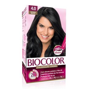 Tudo sobre 'Biocolor Kit Coloração Creme 4.0 Castanho Malícia'