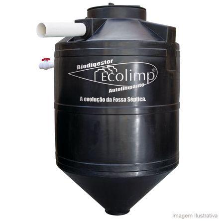 Tudo sobre 'Biodigestor Ecolimp 600 Litros Acqualimp'