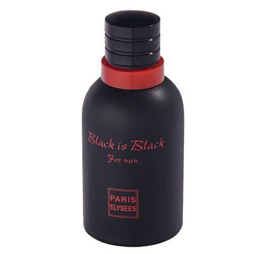 Black Is Back Eau de Toilette Paris Elysees - Perfume Masculino