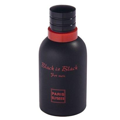 Black Is Black Paris Elysees - Perfume Masculino - Eau de Toilette 100ml