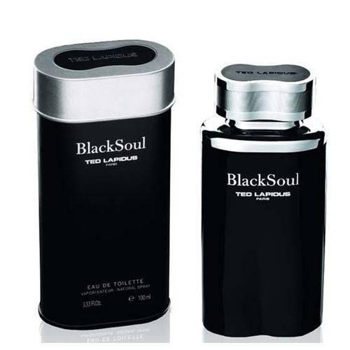 Tudo sobre 'Black Soul de Ted Lapidus Eau de Toilette Masculino'