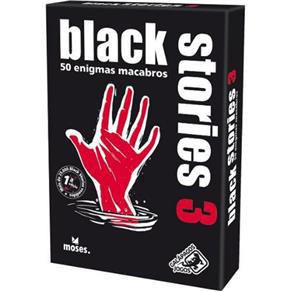 Black Stories 3 Galapagos Jogo de Cartas BLK003