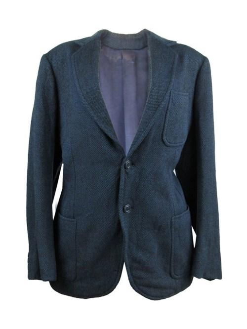 Blazer de Lã Marinho (Azul, 44)