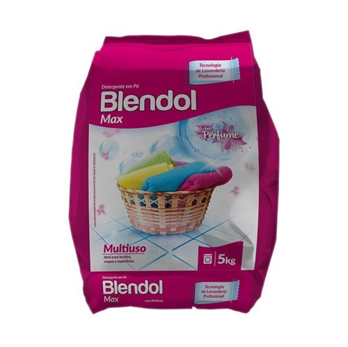 Blendol Max com Perfume - Detergente em Pó - 5KG - Diversey