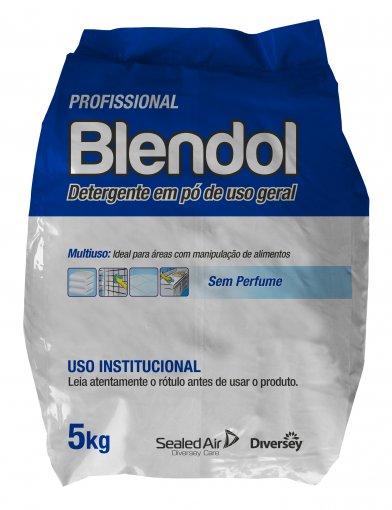 Blendol Max Sem Perfume - Detergente em Pó - 5KG - Diversey