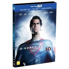 Blu-Ray + Blu-Ray 3D - o Homem de Aço