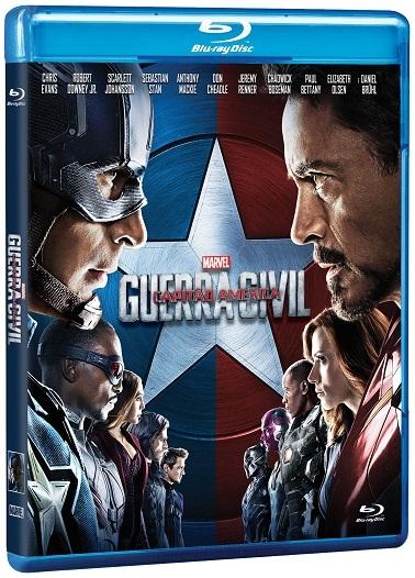 Blu-Ray Capitão América: Guerra Civil - 1