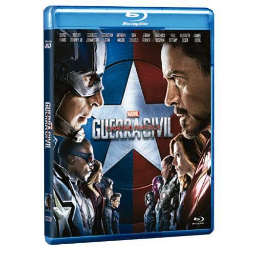 Blu-Ray - Capitão América: Guerra Civil
