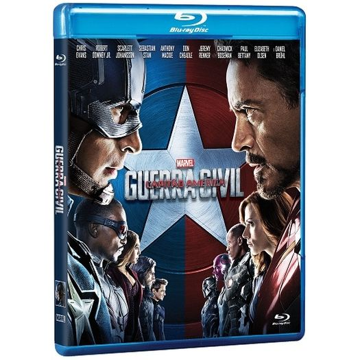 Tudo sobre 'Blu-Ray Capitão América: Guerra Civil'