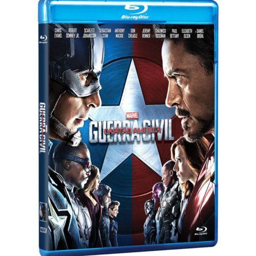 Blu-ray - Capitão América 3 - Guerra Civil