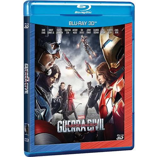 Blu-ray 3D Capitão América: Guerra Civil