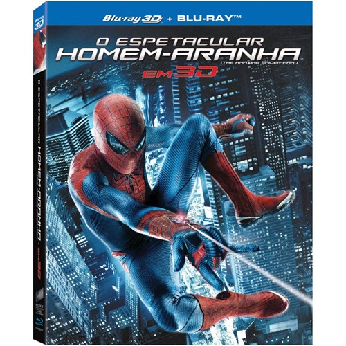Blu-Ray 3D/2D - o Espetacular Homem Aranha