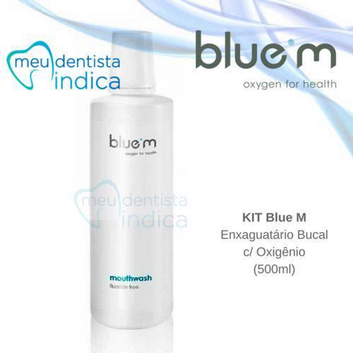 Tudo sobre 'Blue M: Enxaguatório Bucal 500ml'