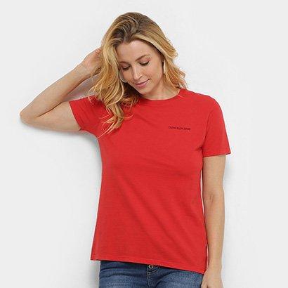 Blusa Calvin Klein Logo Feminina