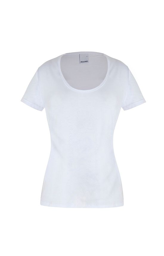 Blusa Decote U Malwee Branco - PP