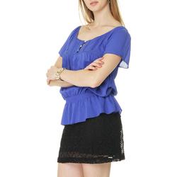 Blusa Facinelli Detalhe com Renda