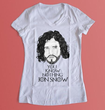 Blusa Game Of Thrones - Jon Snow