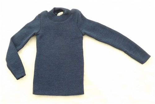 Blusa Infantil de Lã Azul