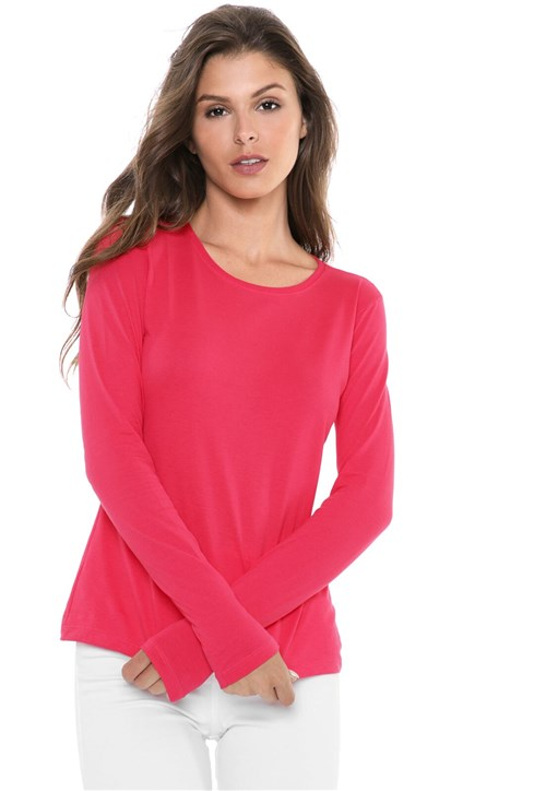 Blusa Malwee Básica Pink