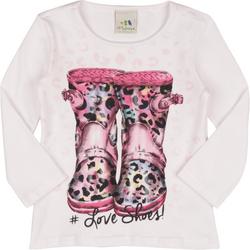 Tudo sobre 'Blusa Malwee Brasileirinhos Love Shoes'