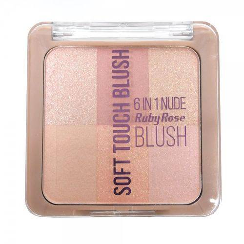 Tudo sobre 'Blush Soft Touch Hb-6109 Pocket Ruby Rose Cor 01'