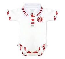 Body Bebê Manga Curta Polo Menino Internacional Doremibebê
