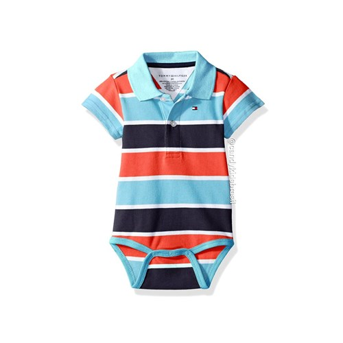 Body Tommy Hilfiger - Gola Polo (9 Meses)
