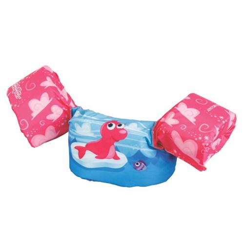 Boia Colete Salva Vidas Foca Rosa - Puddle Jumper