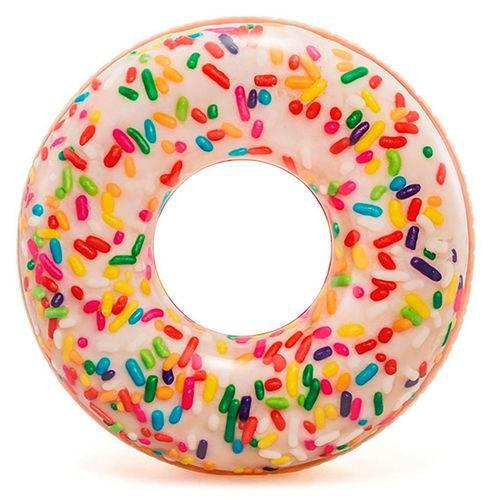 Bóia Inflável Redonda Donut de Granulado - Intex