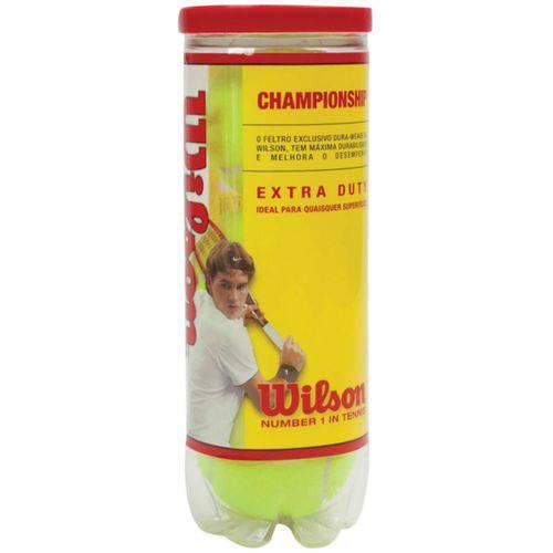 Tudo sobre 'Bola Championship C/3 Amarela Wilson Tubo'